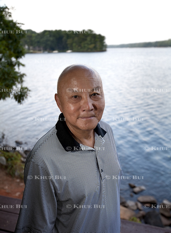 David Chu, age 68, walks around Sunday Park Saturday, September, 5, 2015, in Midlothian, VA.  Chu, who developed Type 2 Diabetes 5 years ago, walks once or twice a day to help cope and combat the disease.<br /> <br /> Photo by Khue Bui
