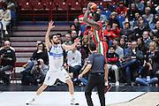 Rakim Sanders, EA7 Emporio Armani Milano vs Germani Basket Brescia LBA serie A 4^ giornata di ritorno stagione 2016/2017 Mediolanum Forum Assago, Milano 12/02/2017