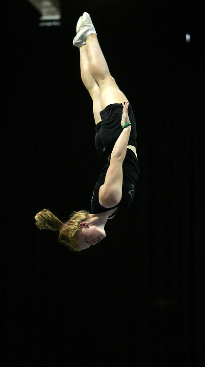 Trampolining. Australian Olympic Festival, Sydney, Australia. Thursday 18 January. Photo: John Cowpland/PHOTOSPORT
