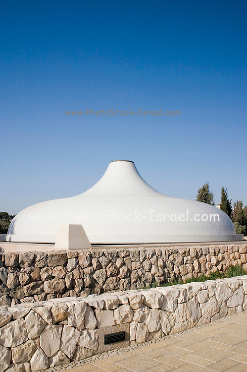 Jerusalem, Israel, The Shrine of the Book at the Israel Museum, focuses on the Dead Sea Scrolls and other ancient scriptures, September 2006
