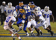 Oxford High's Stan Ivy (6) vs. Senatobia in high school football in Oxford, Miss. on Friday, September 9, 2011. Oxford won 40-20.