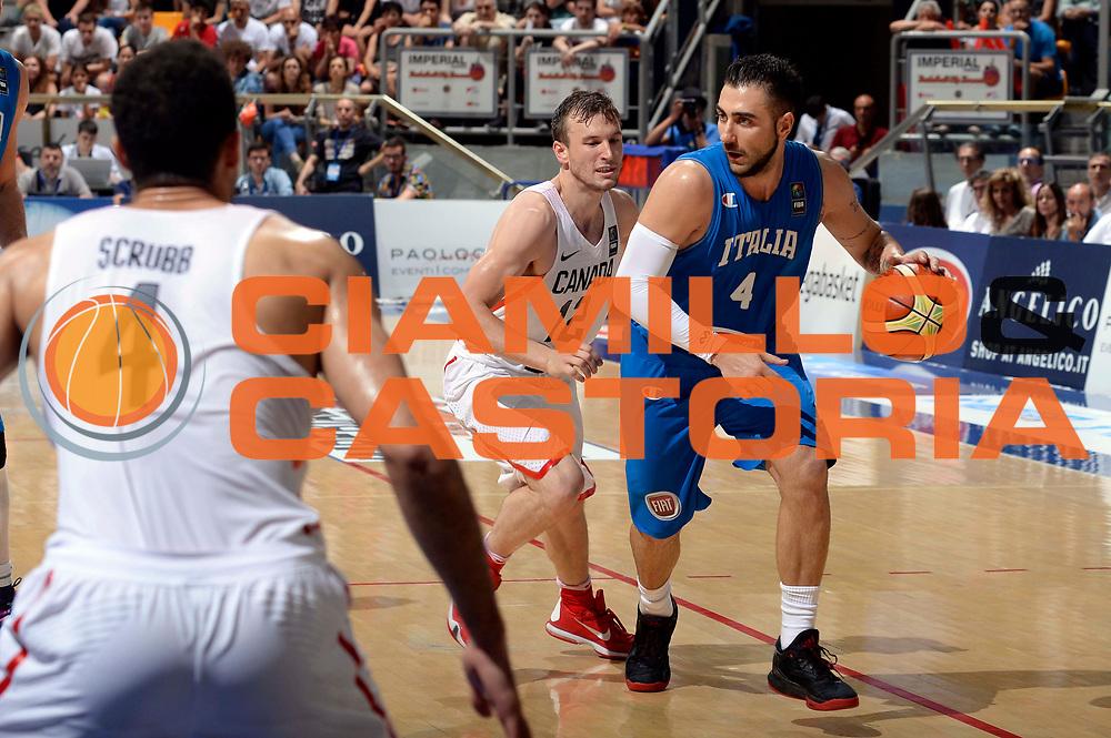 DESCRIZIONE: Bologna Basketball City Tournament - Italia Canada<br /> GIOCATORE: pietro aradori<br /> CATEGORIA: Nazionale Maschile Senior<br /> GARA: Bologna Basketball City Tournament - Italia Canada<br /> DATA: 26/06/2016<br /> AUTORE: Agenzia Ciamillo-Castoria