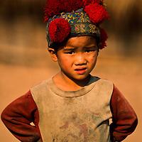 Yao Hill Tribe boy, Muang Singh, Laos