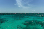 Caribbean Ocean<br /> near Ambergris Caye<br /> Belize<br /> Central America