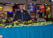 KELOWNA, CANADA - NOVEMBER 17:  Home Depot at the Kelowna Rockets game on November 17, 2017 at Prospera Place in Kelowna, British Columbia, Canada.  (Photo By Cindy Rogers/Nyasa Photography,  *** Local Caption ***