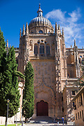 12th Century Romanesque old Cathedral - Catedral Vieja - in Salamanca, Spain
