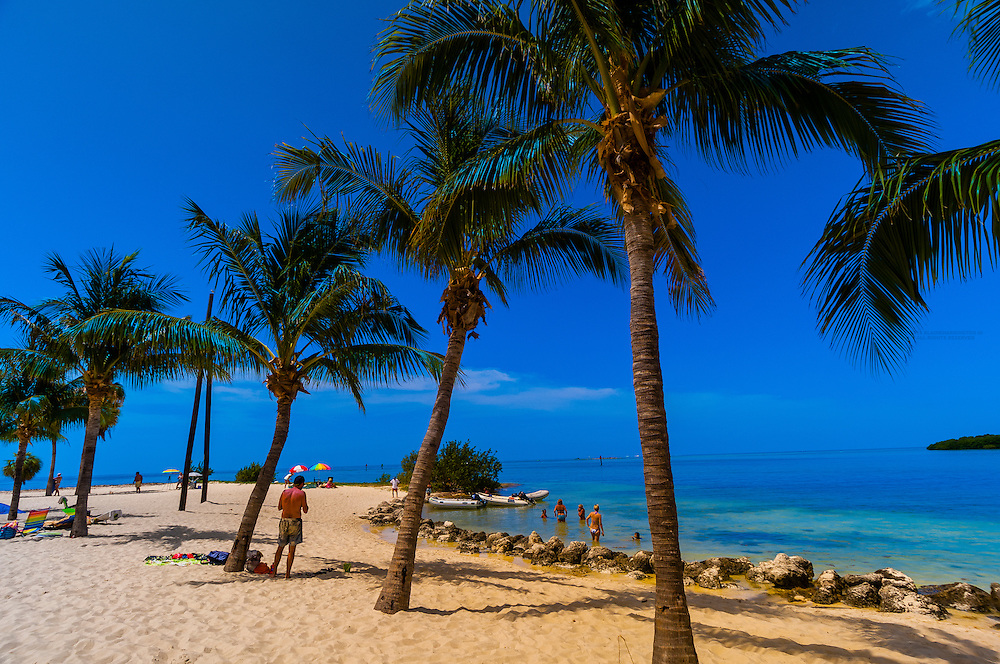 Sombrero Beach, Marathon Key, Florida Keys, Florida USA
