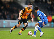 Hull City midfielder Robert Snodgrass (10) in action against Brighton and Hove Albion at the KC Stadium, Kingston upon Hull, England on 9 January 2016.