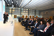 Ludwigshafen. 04.04.17<br /> BASF. Bürgerdialog nach dem BASF Unglück im Oktober 2016.<br /> Bürgermeister Klaus Dillinger und Dieter Feid<br /> Bild: Markus Proßwitz 04APR17 /masterpress