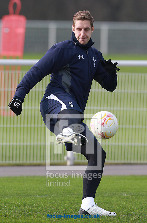 Picture by Paul Terry/Focus Images Ltd +44 7545 642257.13/02/2013.Michael Dawson pictured during Tottenham Hotspur open training at Spurs Lodge, Enfield, London.