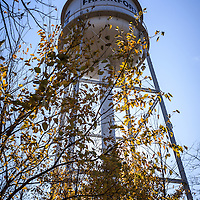 Photo of Frankfort Water Tower in Frankfort Illinois. Frankfort is Southestern  suburb of Chicago.