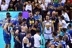 GIANLORENZO BLENGINI<br /> ITALY VS SLOVENIA<br /> MEN'S VOLLEYBALL WORLD CHAMPIONSHIPS <br /> Florence September 18, 2018