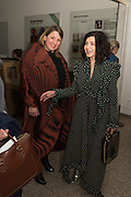 FARSHID MOUSSAVI; CATHERINE PETITGAS, Peter Doig  was the fourth artist to receive the  annual Art Icon award. Whitechapel Gallery. London.  26 january 2017