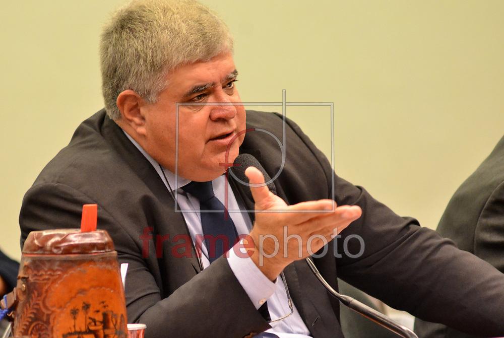 Brasilia (DF),25/04/2017 -O Presidente da comissão  da previvencia Deputado Carlos Marun ,Preside a comissão da Reforma da Previdencia . Foto: Renato Costa / FramePhoto
