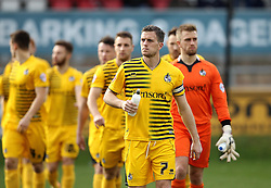 Lee Mansell of Bristol Rovers leads his side out for the game against Dagenham & Redbridge - Mandatory byline: Robbie Stephenson/JMP - 19/12/2015 - Football - Victoria Road - London, England - Dagenham & Redbridge v Bristol Rovers - Sky Bet League Two