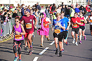 Fancy dress runner during the The Great South Run in Southsea, Portsmouth, United Kingdom on 23 October 2016. Photo by Jon Bromley.