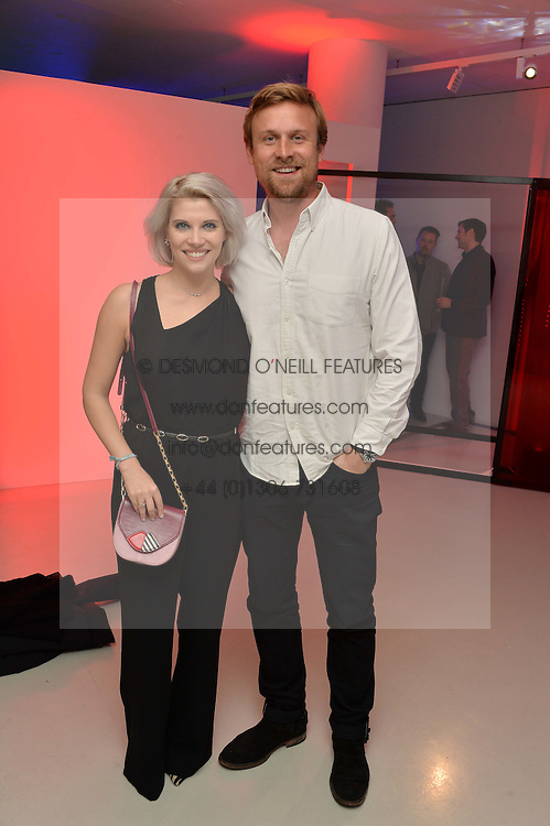 PIPS TAYLOR ans TOM HAMILTON at the Fabergé #SayYesInColour Launch held at Rook & Raven, 7 Rathbone Place, London on 20th October 2016.