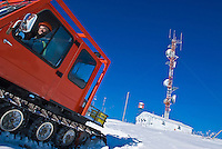 Remote communications tower is maintained year-round in the Yukon, Canada.<br /> <br /> NOT IN YOUR BUDGET? Contact Cathie for a price specific to your project.
