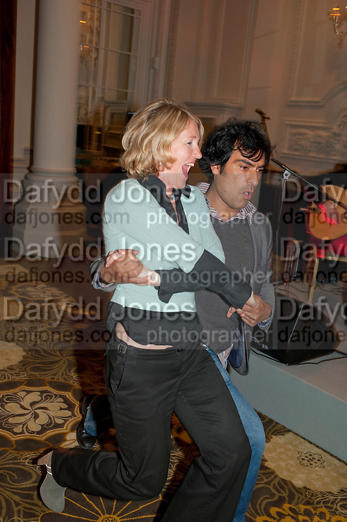 SALLY JONES; DEEPAK VERMA, Langham Hotel party after a major renovation. Portland Place, London. 10 June 2009
