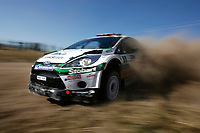 MOTORSPORT - WRC 2011 - ARGENTINA RALLY - CORDOBA 26 TO 29/05/2011 - PHOTO : BASTIEN BAUDIN / DPPI - <br /> 06 MADS OSTBERG (NOR) / JONAS ANDERSSON (SWE) - FORD FIESTA RS WRC - M-SPORT STOBART FORD WORLD RALLY TEAM - ACTION