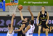 DESCRIZIONE : Lubiana Ljubliana Slovenia Eurobasket Men 2013 Preliminary Round Germania Gran Bretagna Germany Great Britain<br /> GIOCATORE : Bastian Doreth<br /> CATEGORIA : tiro shot<br /> SQUADRA : Germania Germany<br /> EVENTO : Eurobasket Men 2013<br /> GARA : Germania Gran Bretagna Germany Great Britain<br /> DATA : 08/09/2013 <br /> SPORT : Pallacanestro <br /> AUTORE : Agenzia Ciamillo-Castoria/T.Wiedensohler<br /> Galleria : Eurobasket Men 2013<br /> Fotonotizia : Lubiana Ljubliana Slovenia Eurobasket Men 2013 Preliminary Round Germania Gran Bretagna Germany Great Britain<br /> Predefinita :