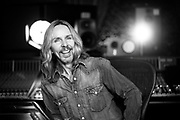 photograph of tommy shaw from the band styx, blackbird studios nashville, tn