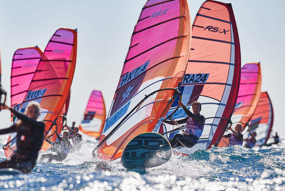 The 2017 RS:X European and Youth European Championships &amp; Open Trophy in Marseille, <br /> France from 6-13 May 2017 with 265 sailors (163 Senior and 102 Youth)<br /> @Robert Hajduk / ShutterSail / RS:X Class