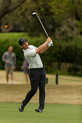 March 23, 2018 - Austin, TX, U.S. - AUSTIN, TX - MARCH 23:  Paul Casey hits an approach shot during the WGC-Dell Technologies Match Play Tournament on March 22, 2018, at the Austin Country Club in Austin, TX.  (Photo by David Buono/Icon Sportswire) (Credit Image: © David Buono/Icon SMI via ZUMA Press)