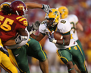 September 3, 2009: North Dakota State running back D.J. McNorton (8) carries the ball during the first half of the Iowa State Cyclones' 34-17 win over the North Dakota State Bison at Jack Trice Stadium in Ames, Iowa on September 3, 2009.