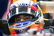 April 17, 2014 - Shanghai, China. UBS Chinese Formula One Grand Prix. Daniel Ricciardo (AUS), Red Bull-Renault<br /> <br /> © Jamey Price / James Moy Photography