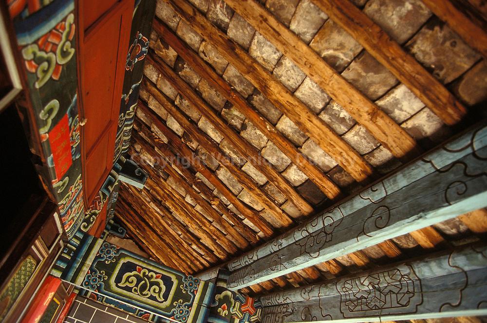 TEMPLE DE YUFENGSI, REGION DE LIJIANG, YUNNAN, CHINE
