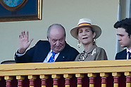 060219 King Juan Carlos of Spain attends Bullfight tribute to Maria de las Mercedes de Borbon