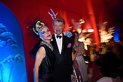 DAPHNE GUINNESS; WILLIAM SHAWCROSS , Nicky Haslam party for Janet de Bottona nd to celebrate 25 years of his Design Company.  Parkstead House. Roehampton. London. 16 October 2008.  *** Local Caption *** -DO NOT ARCHIVE-© Copyright Photograph by Dafydd Jones. 248 Clapham Rd. London SW9 0PZ. Tel 0207 820 0771. www.dafjones.com.