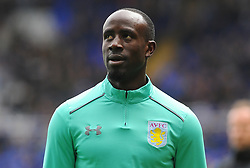 Albert Adomah of Aston Villa looks on- Mandatory by-line: Nizaam Jones/JMP - 29/10/2017 - FOOTBALL - St Andrew's Stadium - Birmingham, England - Birmingham City v Aston Villa - Sky Bet Championship