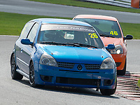 #26 Terry ROUGHTON Renault Clio 182  during K-Tec Racing Clio 182 Championship as part of the 750 Motor Club at Oulton Park, Little Budworth, Cheshire, United Kingdom. April 14 2018. World Copyright Peter Taylor/PSP.