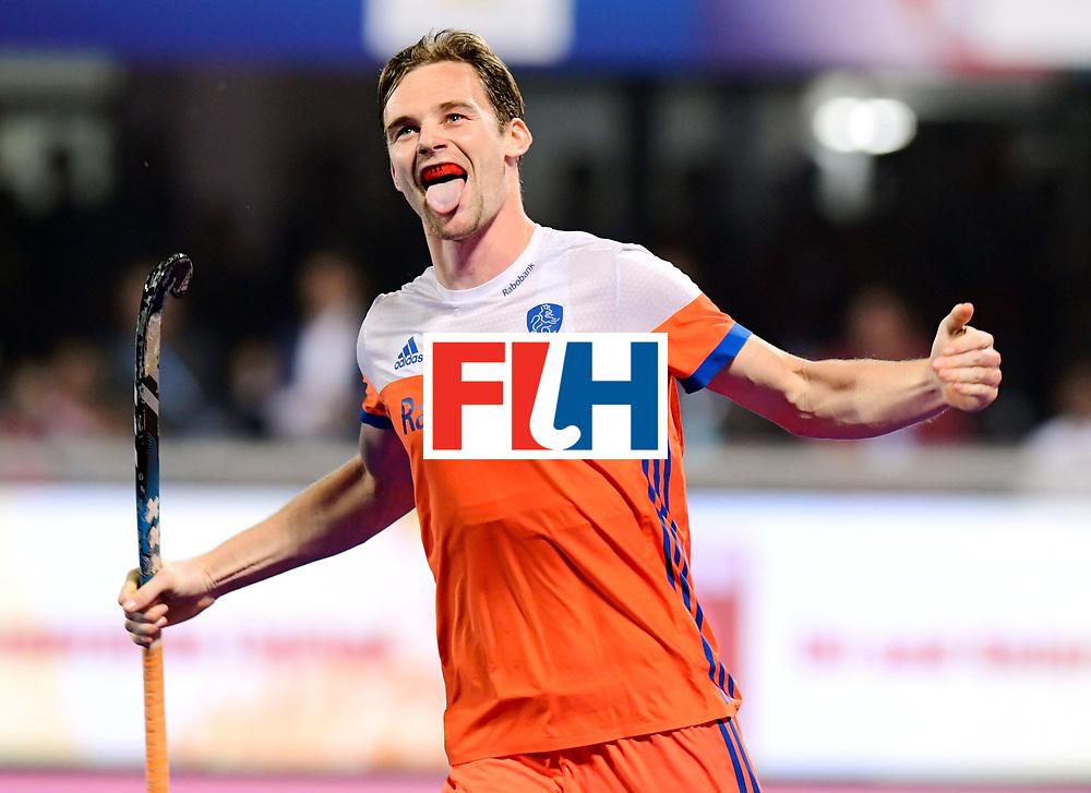 Odisha Men's Hockey World League Final Bhubaneswar 2017<br /> Match id:16<br /> Germany v Netherlands<br /> Foto: Shoot Out <br /> Mirco Pruijser (Ned) <br /> COPYRIGHT WORLDSPORTPICS FRANK UIJLENBROEK