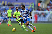 Reading midfielder Daniel Williams (23) during the Sky Bet Championship match between Reading and Brighton and Hove Albion at the Madejski Stadium, Reading, England on 31 October 2015.