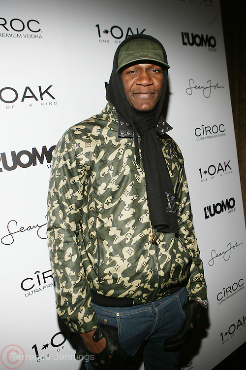 "Alexander Allen pictured at the cocktail party celebrating Sean ""Diddy"" Combs appearance on the "" Black on Black "" cover of L'Uomo Vogue's October Music Issue"