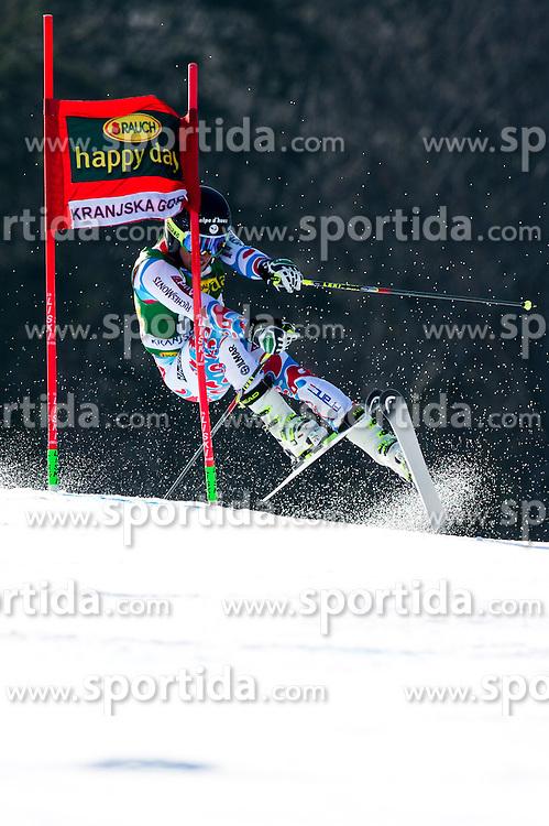 FABREJonas of France during the 1st Run of Men's Giant Slalom - Pokal Vitranc 2014 of FIS Alpine Ski World Cup 2013/2014, on March 8, 2014 in Vitranc, Kranjska Gora, Slovenia. Photo by Matic Klansek Velej / Sportida