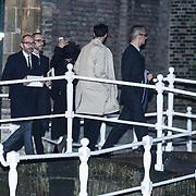 NLD/Delft/20131102 - Herdenkingsdienst voor de overleden prins Friso, mode ontwerpers Victor & Rolf