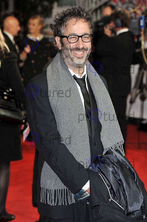 David Baddiel..'Hugo in 3D' Royal Premiere, Odeon Cinema, Leicester Square, London, England. 28 November 2011. Contact: rich@piqtured.com  +(0)7941 079620 (Picture by Awais Butt)