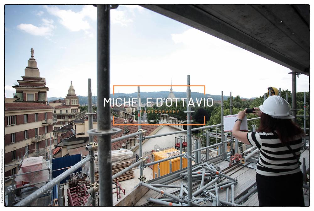 Torino Cantiere  Ex Cinema Hollywood, alla confluenza tra i corsi Regina Margherita e San Maurizio, viene realizzato un progetto di grande impatto visivo,