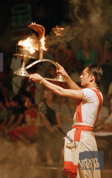 Evening Aarti at the Ghats - Varanasi