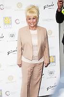 LONDON - May 14: Barbara Windsor at the Aston Martin Tailoring Collection - VIP Launch (Photo by Brett D. Cove)