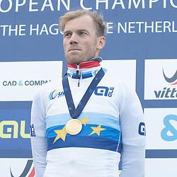 09-12-2018: Wielrennen: EK beachrace: Scheveningen <br />Lars Boom pakt de Europese titel
