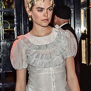 Anna Rubin  arrivers at the Tramp Members Club 40 Jermyn Street, on 23 May 2019, London, UK.