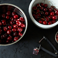 Small Batch Sour Cherry Filling