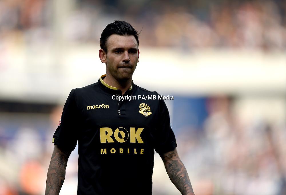 Bolton Wanderers' Mark Davies