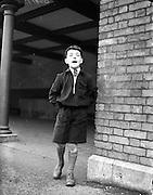 12/11/1952<br /> 11/12/1952<br /> 12 November 1952<br /> (12/11/1952?)<br /> Raymond Brennan, Loftus Lane, Capel Street outside Marlboro Street School, Dublin