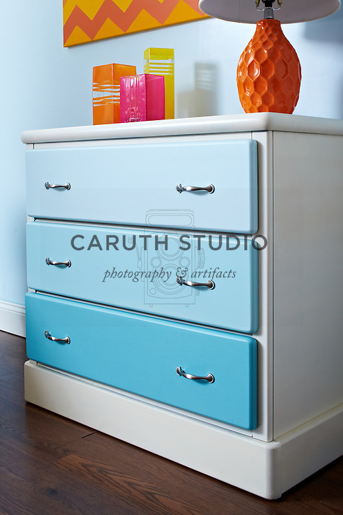 Living room paint projects, chest of drawers